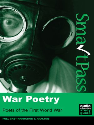 cover image of War Poetry