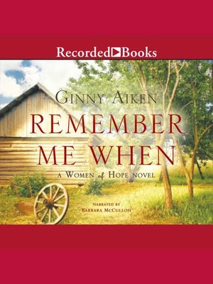 cover image of Remember Me When
