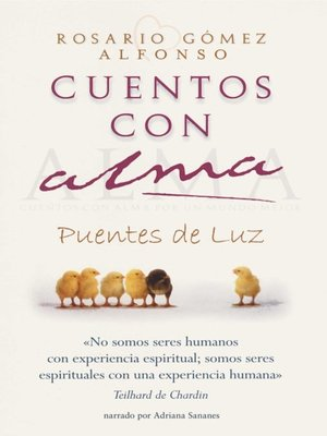 cover image of Cuentos con alma