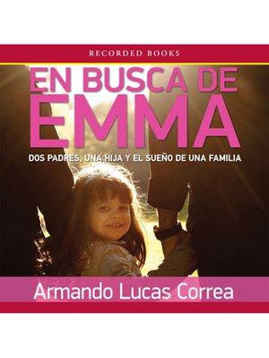 cover image of En busca de Emma