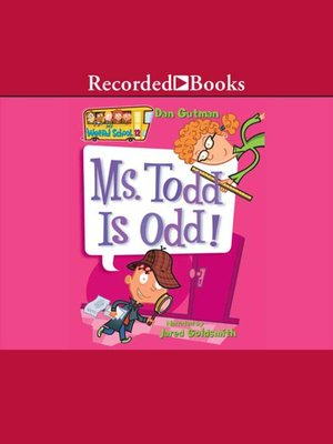 cover image of Ms. Todd Is Odd