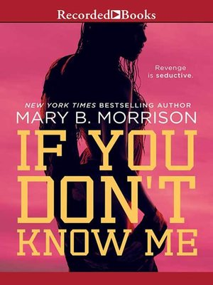 cover image of If You Don't Know Me