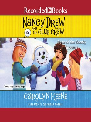 cover image of The Case of the Sneaky Snowman