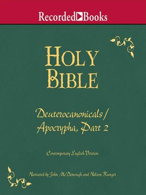 cover image of Part 2, Holy Bible Deuterocanonicals/Apocrypha-Volume 19