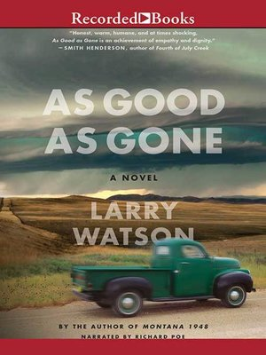 cover image of As Good As Gone