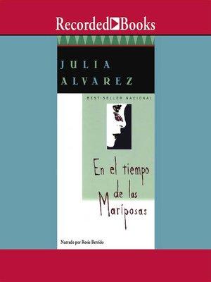 cover image of En el tiempo de las mariposas
