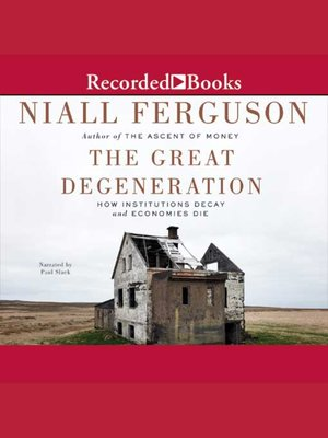 cover image of The Great Degeneration