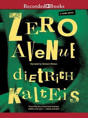 cover image of Zero Avenue