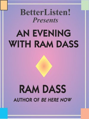 cover image of An Evening with Ram Dass