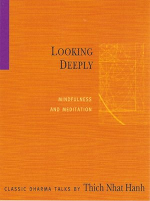 cover image of Looking Deeply