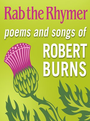 cover image of Rab the Rhymer