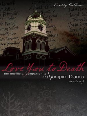 cover image of Love You to Death, Season 3
