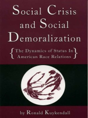 cover image of Social Crisis and Social Demoralization