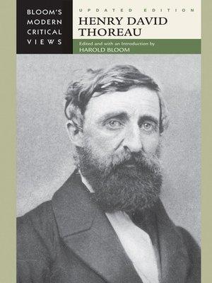 cover image of Henry David Thoreau