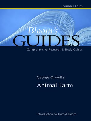 cover image of George Orwell's Animal Farm