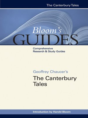 cover image of Geoffrey Chaucer's The Canterbury Tales
