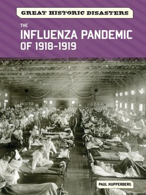 cover image of The Influenza Pandemic of 1918-1919