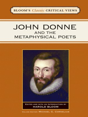 cover image of John Donne and the Metaphysical Poets