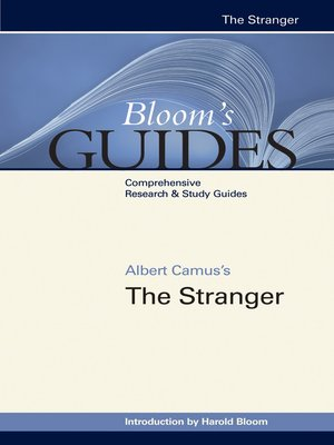 cover image of Albert Camus's The Stranger