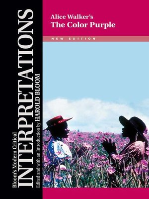 the color purple alice walker - The Color Purple Book
