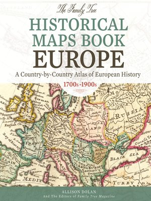 cover image of The Family Tree Historical Maps Book--Europe