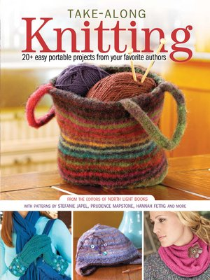 cover image of Take-Along Knitting