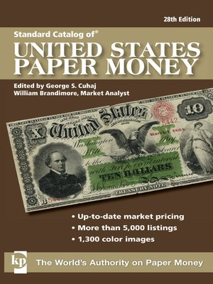 cover image of Standard Catalog of U.S. Paper Money