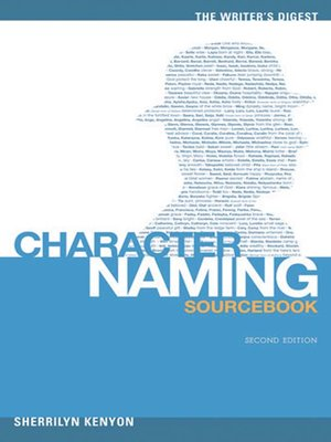 cover image of The Writer's Digest Character Naming Sourcebook
