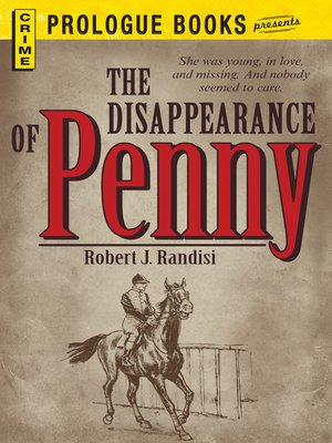 cover image of The Disappearance of Penny