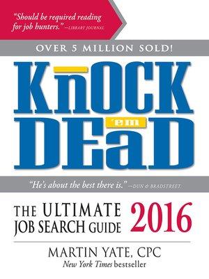 cover image of Knock 'Em Dead 2016