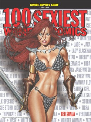 cover image of 100 Sexiest Women in Comics