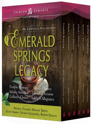 cover image of Emerald Springs Legacy