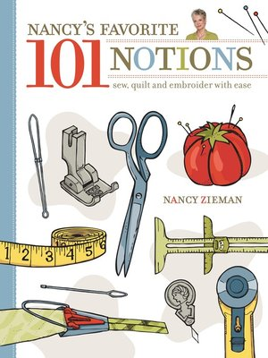 cover image of Nancy's Favorite 101 Notions