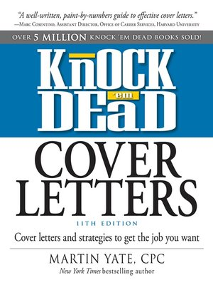 cover image of Knock 'em Dead Cover Letters