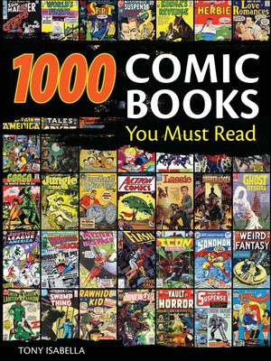 cover image of 1,000 Comic Books You Must Read