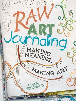 cover image of Raw Art Journaling