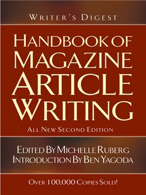 cover image of The Writer's Digest Handbook of Magazine Article Writing
