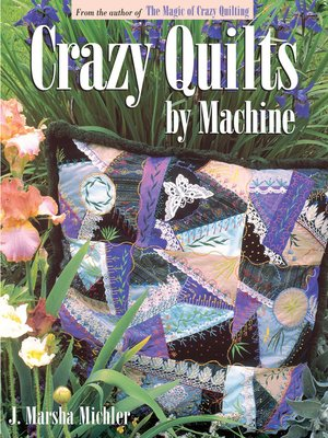 cover image of Crazy Quilts by Machine