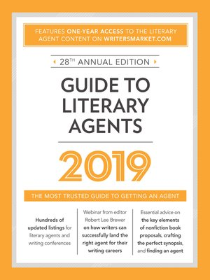 cover image of Guide to Literary Agents 2019