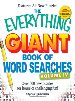 cover image of Giant Book of Word Searches