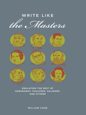 cover image of Write Like the Masters