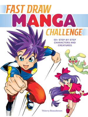 cover image of Fast Draw Manga Challenge