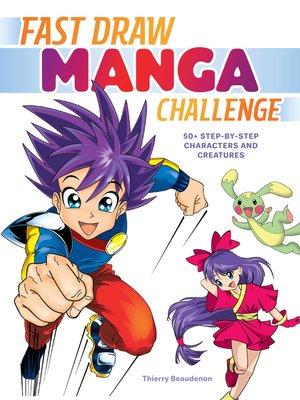 cover image of Fast Draw Manga Challenge