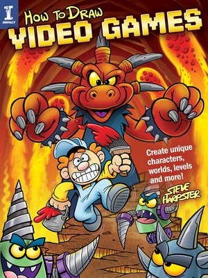 cover image of How to Draw Video Games