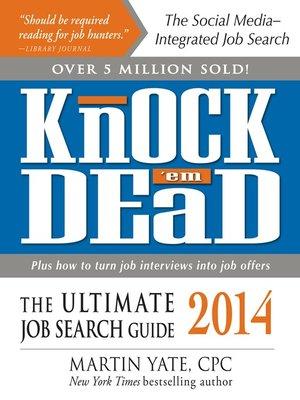 cover image of Knock 'em Dead 2014