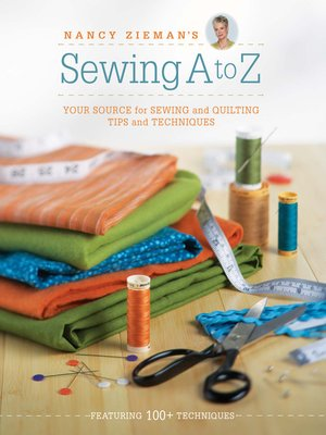 cover image of Nancy Zieman's Sewing a to Z
