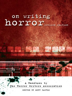cover image of On Writing Horror