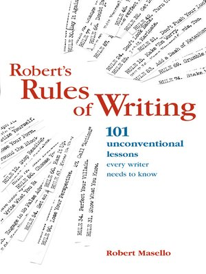 cover image of Robert's Rules of Writing