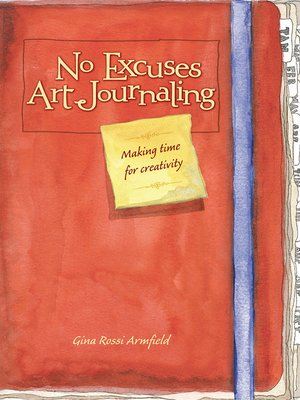 cover image of No Excuses Art Journaling