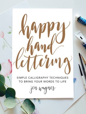 cover image of Happy Hand Lettering